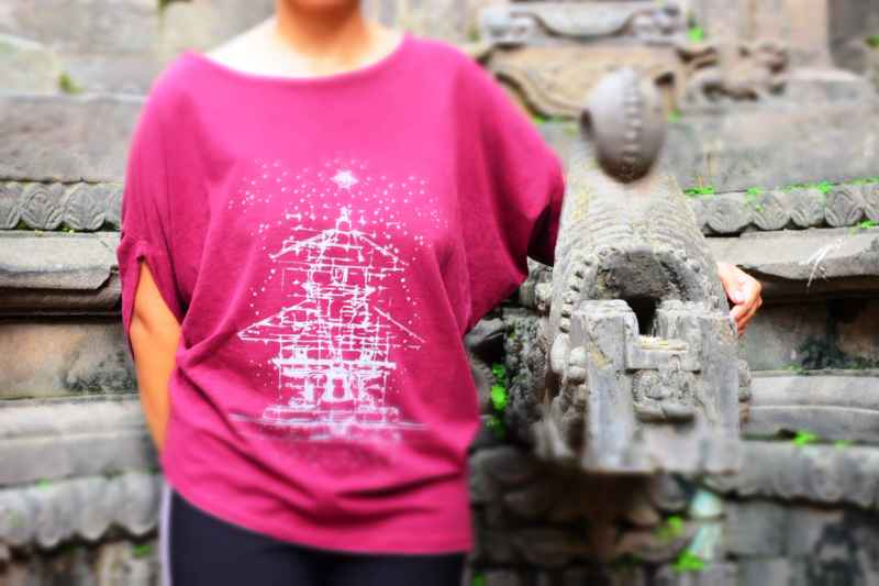 Temple Printed T-shirt