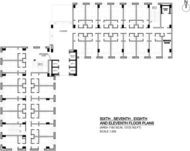 6th-7th-11th-floor-768x610 Siteplan | Site of Chhaya Center