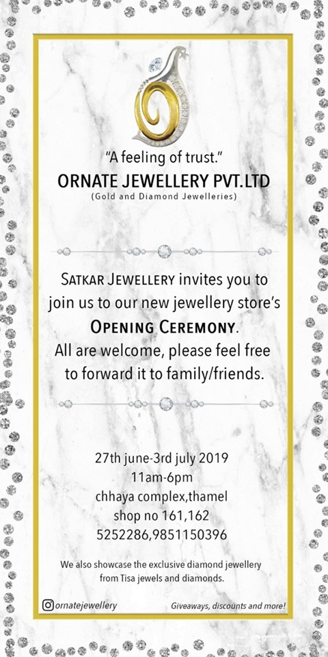 Satkar Jewellery Opening Ceremony