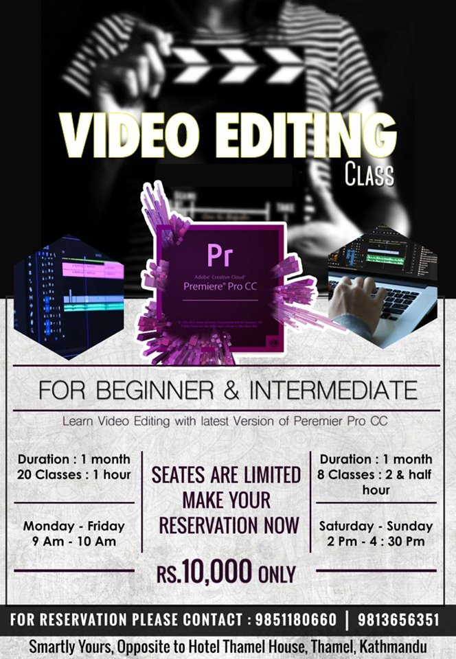 Video Editing Class