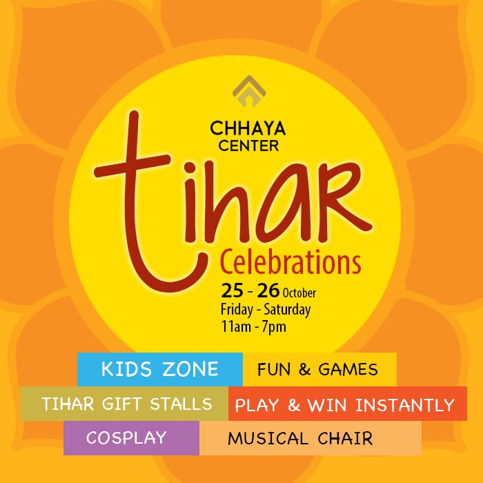 Tihar Celebration in Chhaya Center
