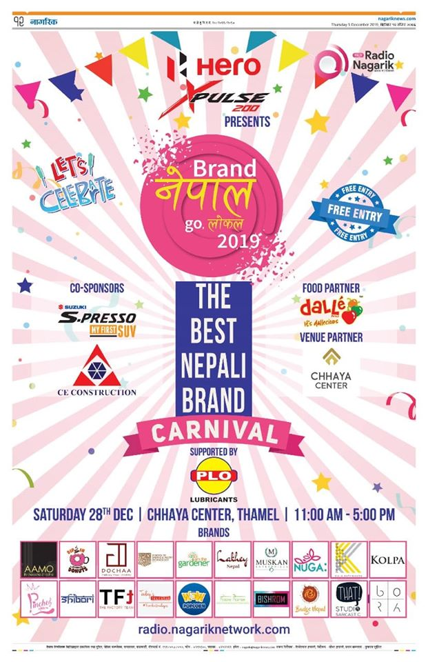 Brand Nepal, Go Local Carnival