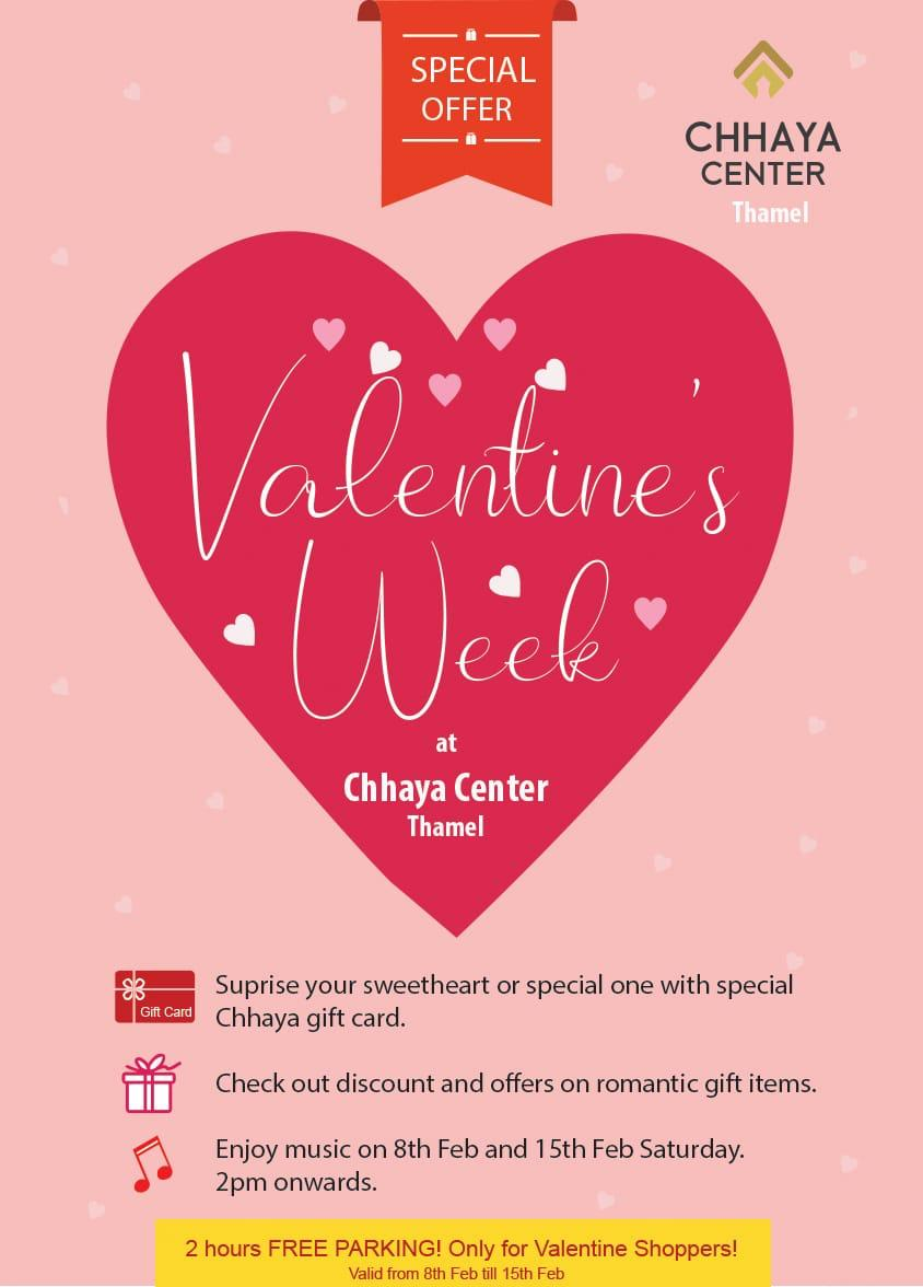 Chhaya Center celebrates Valentine