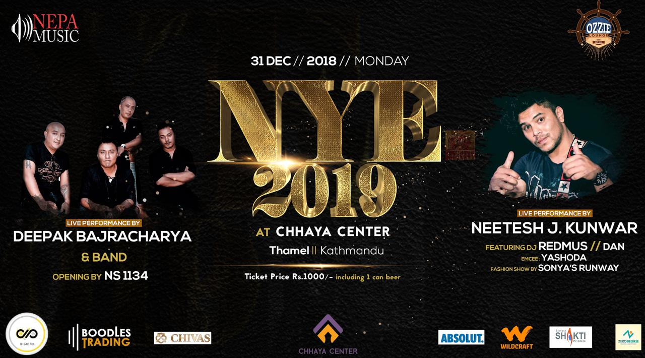 New Year Eve 2019 with Star Singer Deepak Bajracharya